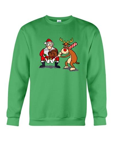 SOFTBALL   Santa Reindeer