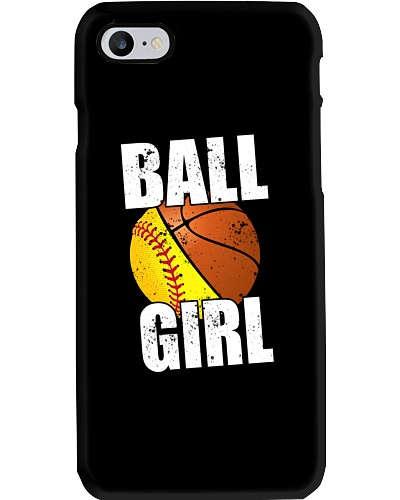 SOFTBALL ball girl
