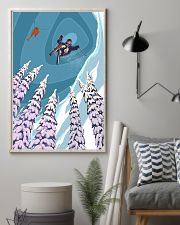 SKIING Poster Heli Retro Ski Jump 24x36 Poster lifestyle-poster-1