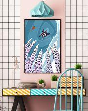 SKIING Poster Heli Retro Ski Jump 24x36 Poster lifestyle-poster-6