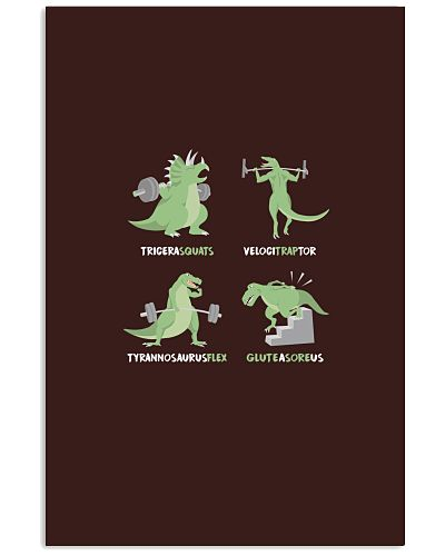 WEIGHT LIFTING Workout Dinosaur
