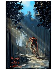 MOUNTAIN BIKING My Way In Life Is A Dirt 24x36 Poster front