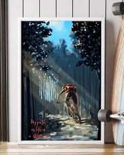 MOUNTAIN BIKING My Way In Life Is A Dirt 24x36 Poster lifestyle-poster-4