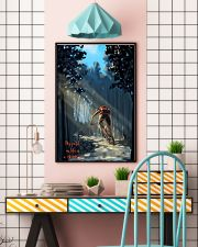 MOUNTAIN BIKING My Way In Life Is A Dirt 24x36 Poster lifestyle-poster-6