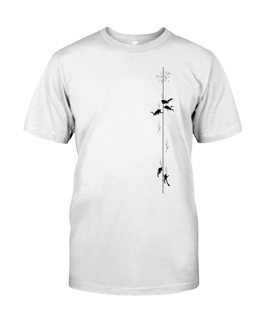 SCUBA DIVING 7840 Classic T-Shirt