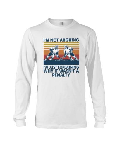 HOCKEY   I'm Not Arguing
