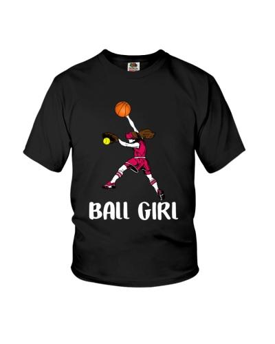 SOFTBALL Cool Gift Ball Girl