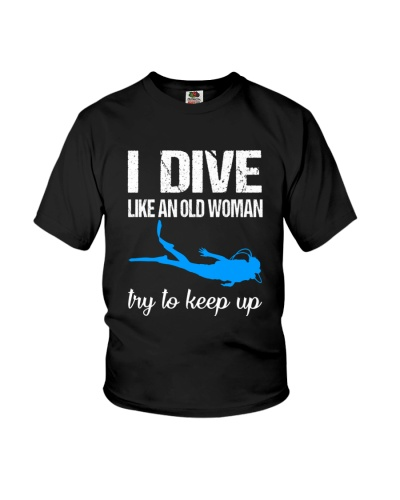 SCUBA DIVING I Dive Like An Old Woman