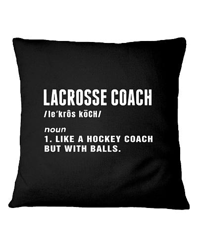 LACROSSE   Lacrosse coach