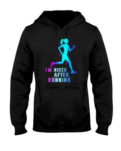 RUNNING I'm Nicer After Running