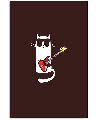 BASS GUITAR   Cat Playing Bass