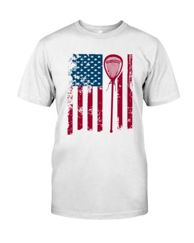 LACROSSE   Flag lacrosse stick