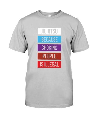 JIU JITSU   Because Choking
