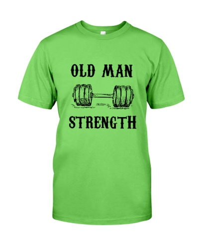 WEIGHT LIFTING Old Man Strength