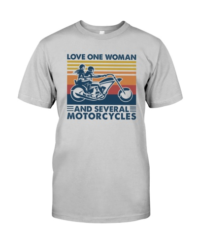 MOTORCYCLE   Love One Woman