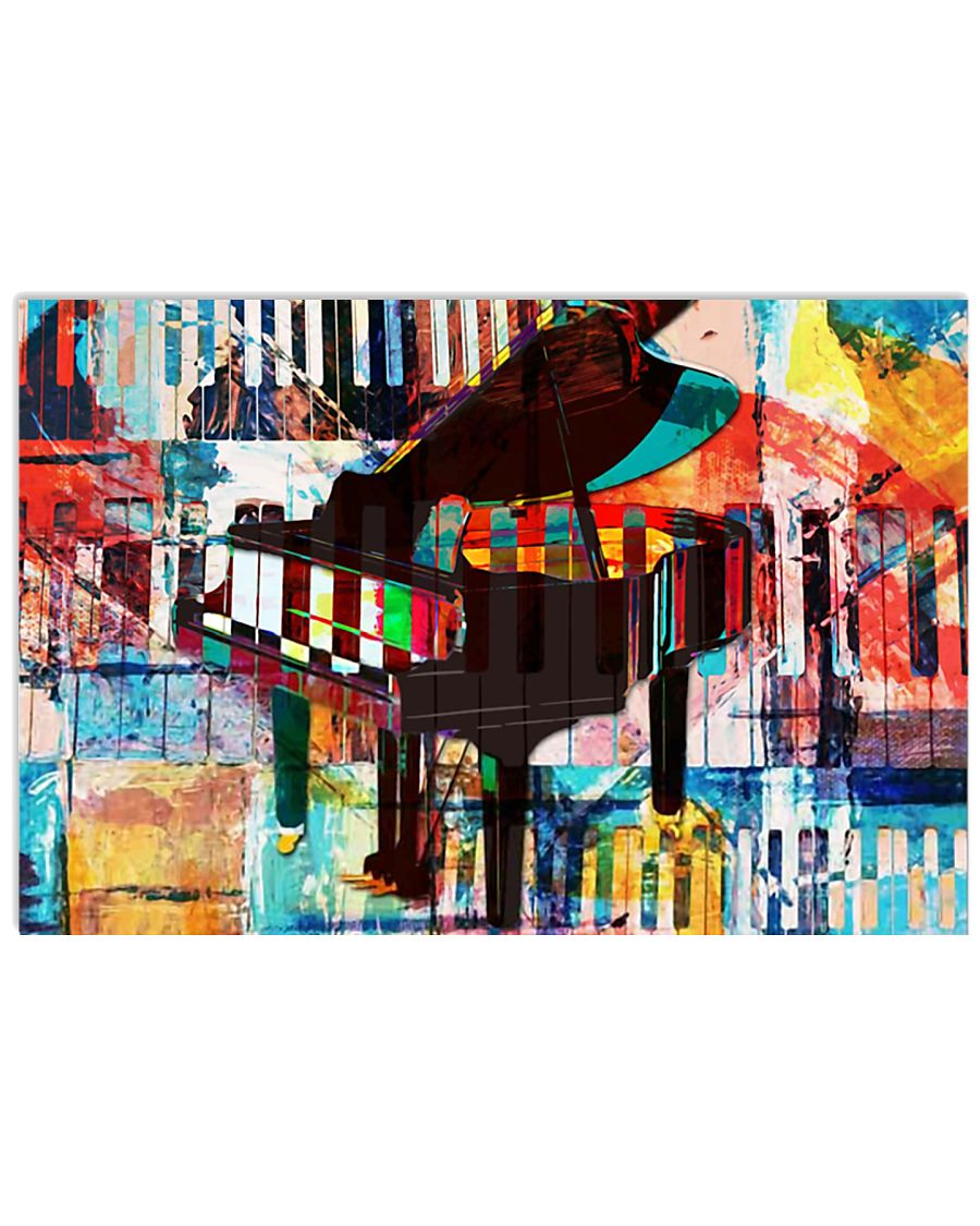 PIANO Poster Art 36x24 Poster