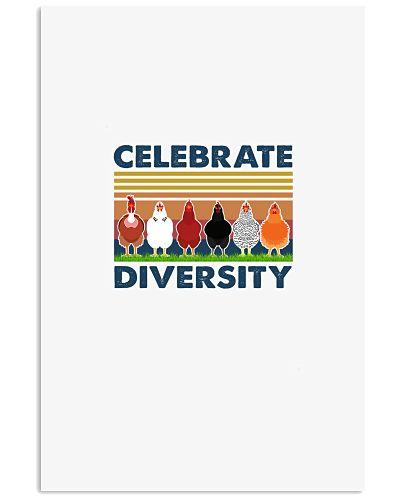 CHICKEN Celebrate Diversity Black
