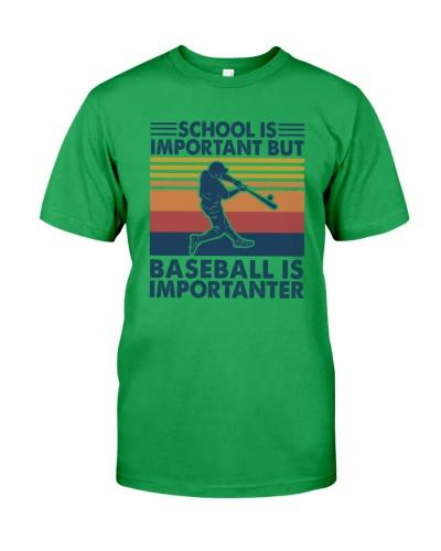 BASEBALL   School is Important