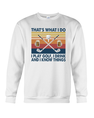GOLF   That's what I do