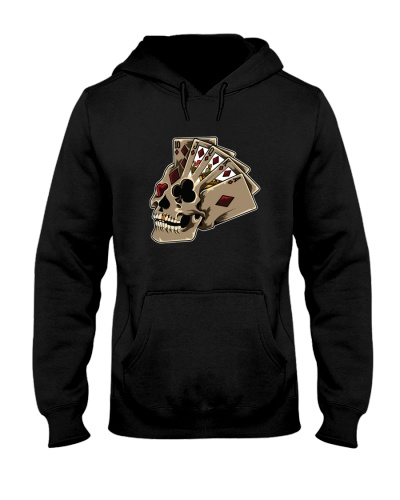 POKER   Poker Themed Skull