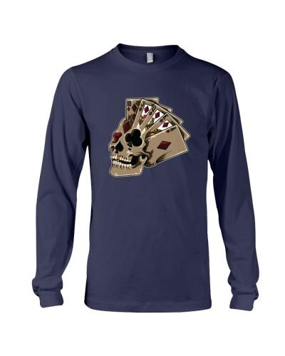 POKER   Poker Themed Skull