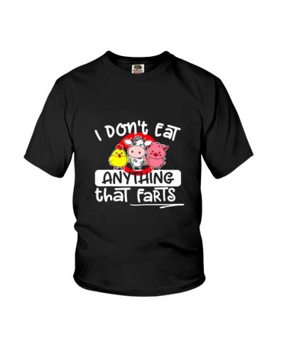 VEGAN   I don't eat