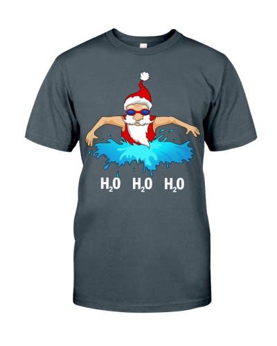 Swim santa H2O
