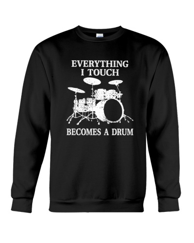DRUMS   Becomes a drum