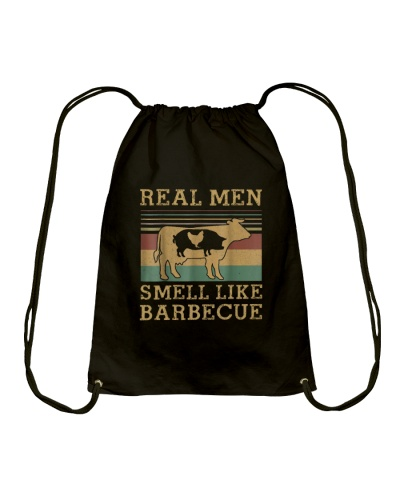 BBQ Real Men Smell Like Barbecue