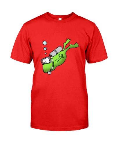 SCUBA DIVING Frog