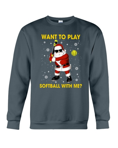 SOFTBALL Want To Play Softball With Me