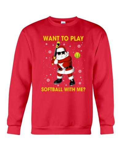 SOFTBALL Want To Play Softball With Me