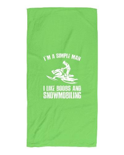 SNOWMOBILE   Im A Simple Man