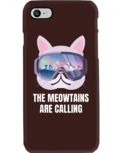 SKIING The Meowtains Are Calling