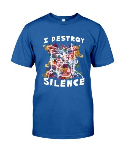 DRUMS I Destroy Silence