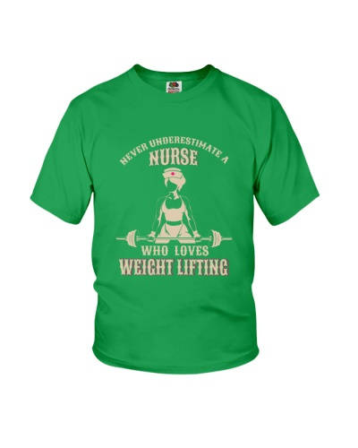 WEIGHT LIFTING    Never underestimate