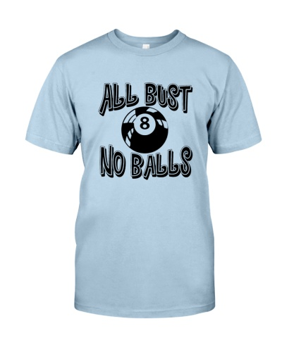 BILLIARD    All Bust No Balls