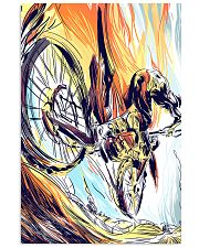 MOUNTAIN BIKING Graphic Poster 24x36 Poster front