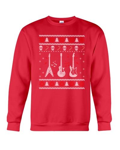 GUITAR Ugly Christmas Sweater