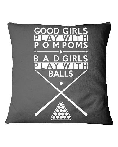 BILLIARD Good Girls Play With Pompoms
