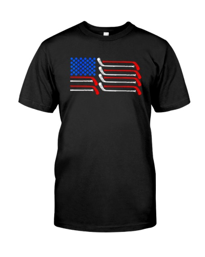 HOCKEY   Hockey American Flag