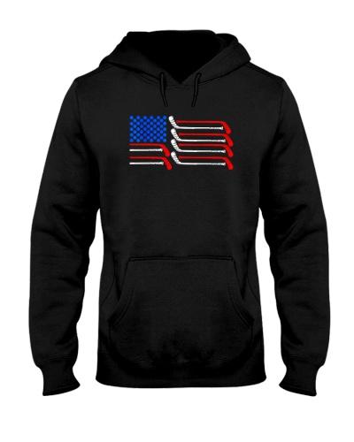 HOCKEY   Hockey American Flag