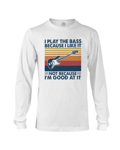BASS GUITAR   I Play The Bass