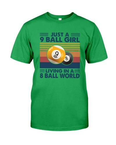 BILLIARD  Ball Girl Living
