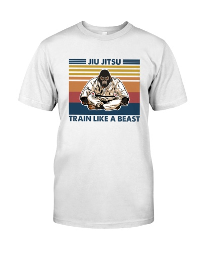 JIU JITSU Train Like A Beast Gorilla