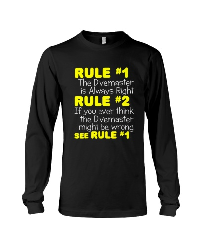 SCUBA DIVING Rule