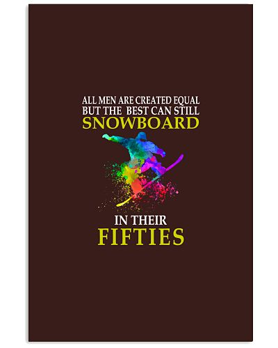 SNOWBOARDING   In their fifties