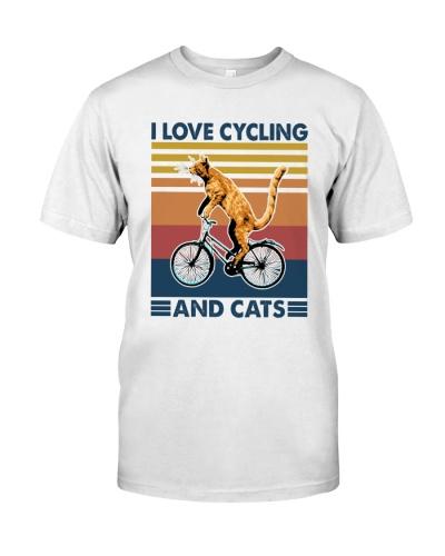 CYCLING I Love Cats