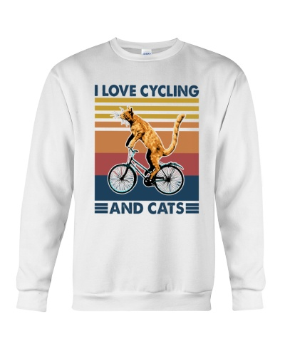 CYCLING I Love Cats