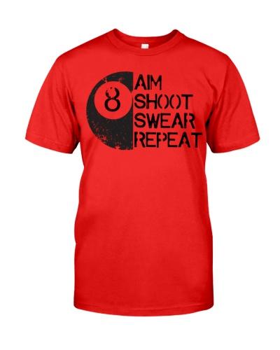 BILLIARD Aim Shoot Swear